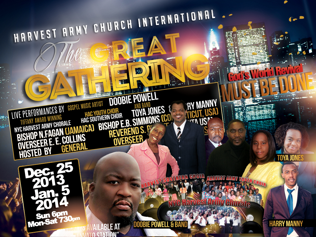 the great gathering harvest army world revival