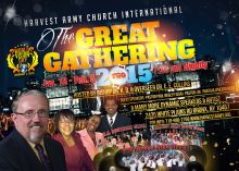 TGG, The Great Gathering, 2015, Harvest army, Harvest army church international, World Vision Day