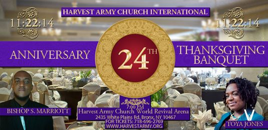 24, 24th, anniversary, banquet, thanksgiving, toya jones, bishop s marriot, harvest army, world revival arena, Gods revival, word network, food, dinner, elegant, red carpet