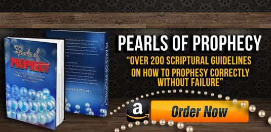 pearls of prophecy, prophesy, how to prophesy, joel 2:28, gift of prophecy, prophet, pearls, scriptural guidelines, how to interpret dreams, visions, revelation, word of knowledge, word of wisdom, great outpouring, new book, household treasure, pearls of prophecy on amazon, harvest army pearls of prophecy