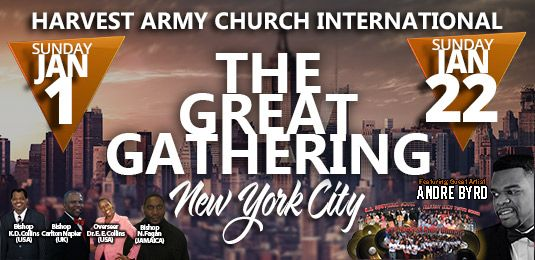 tgg, THE GREAT GATHERING, Convention, Harvest Army Convention, revival, christians unite
